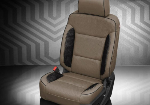 Chevrolet Suburban Two-Tone Leather Seat
