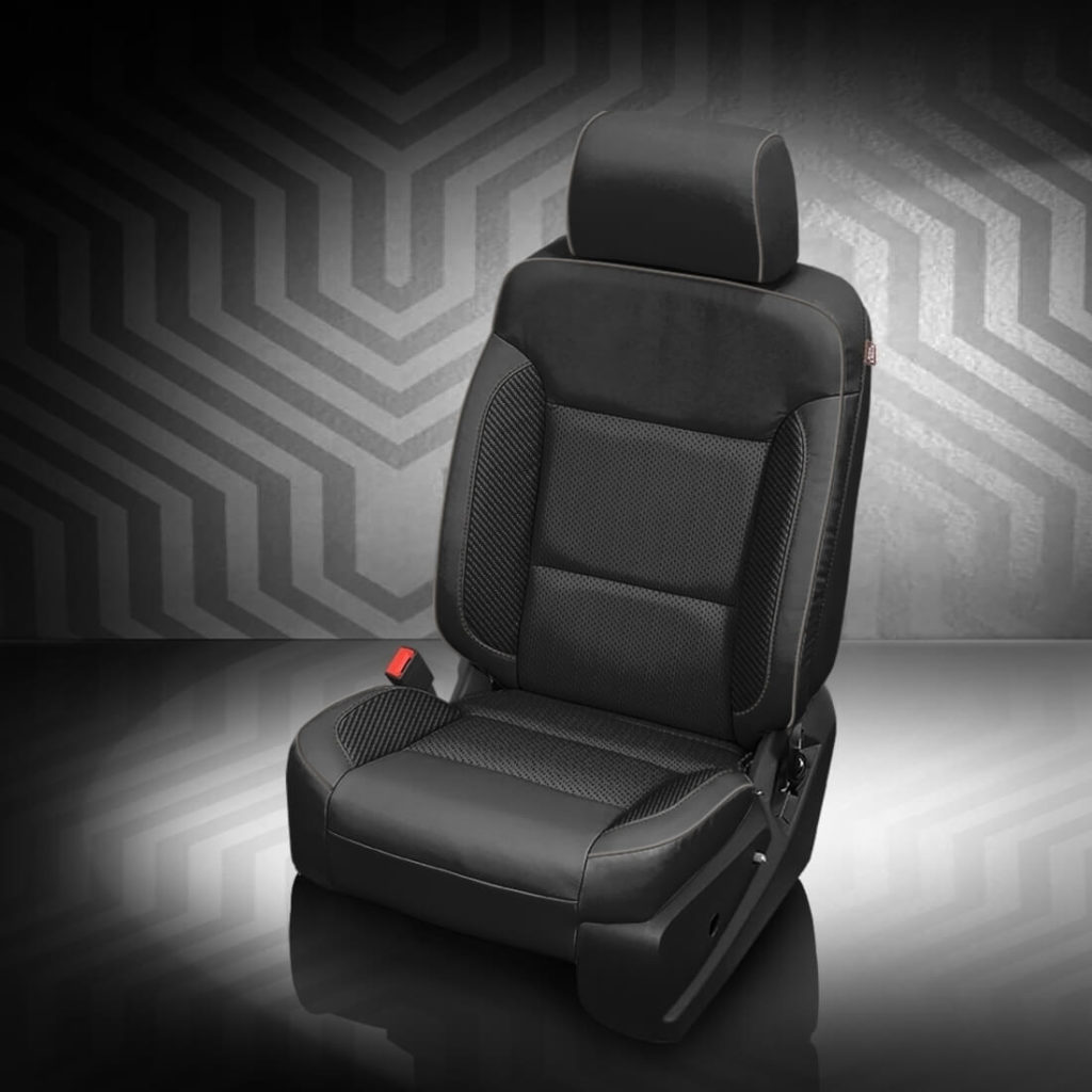 Chevrolet Suburban Black Leather Seat