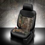 Chevrolet Suburban Camo Leather Seat
