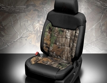 Chevrolet Suburban Camo Leather Seat