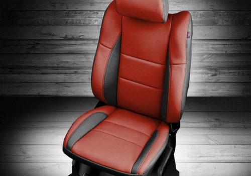 Dodge Durango Red Leather Seats
