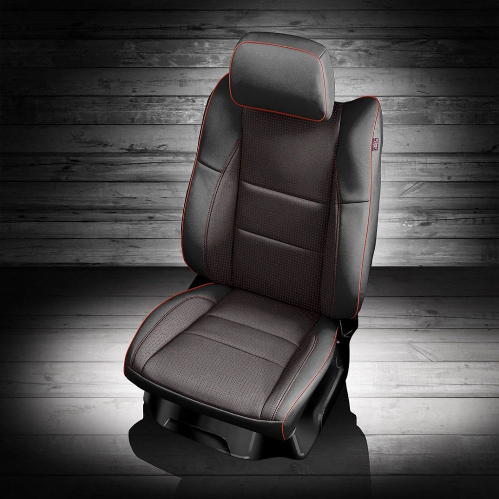 Dodge Durango Black Leather Seats