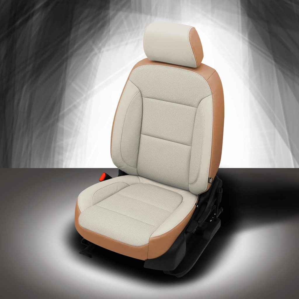 GMC Acadia Three-Tone Leather Seats