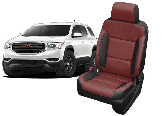 GMC Acadia Two-Tone Leather Seats