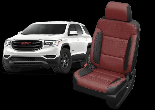 GMC Acadia Two-Tone Leather Seats