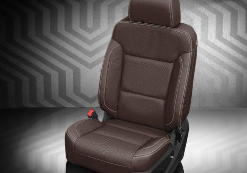 GMC Yukon Brown Leather Seats