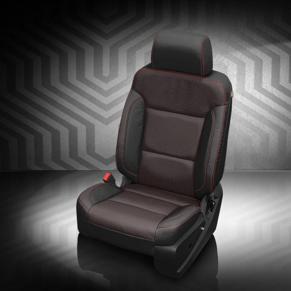 GMC Yukon Black Leather Seats