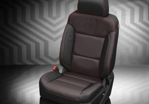 GMC Yukon Black Leather Seats