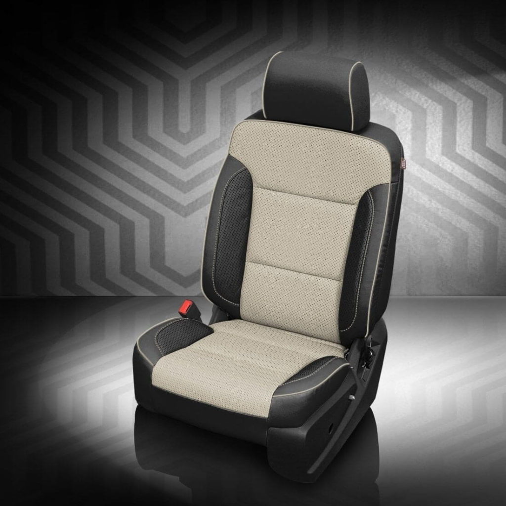 GMC Yukon Two-Tone Leather Seats