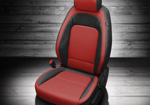 Hyundai Kona Red Leather Seats