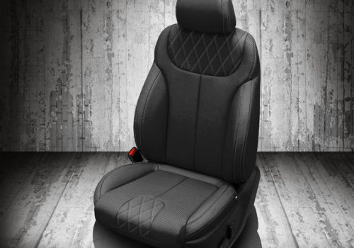 Hyundai Palisade Black Leather Seat Covers