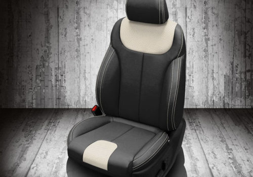 Hyundai Palisade Black and White Seat Covers