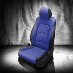 Hyundai Tucson Blue Leather Seats