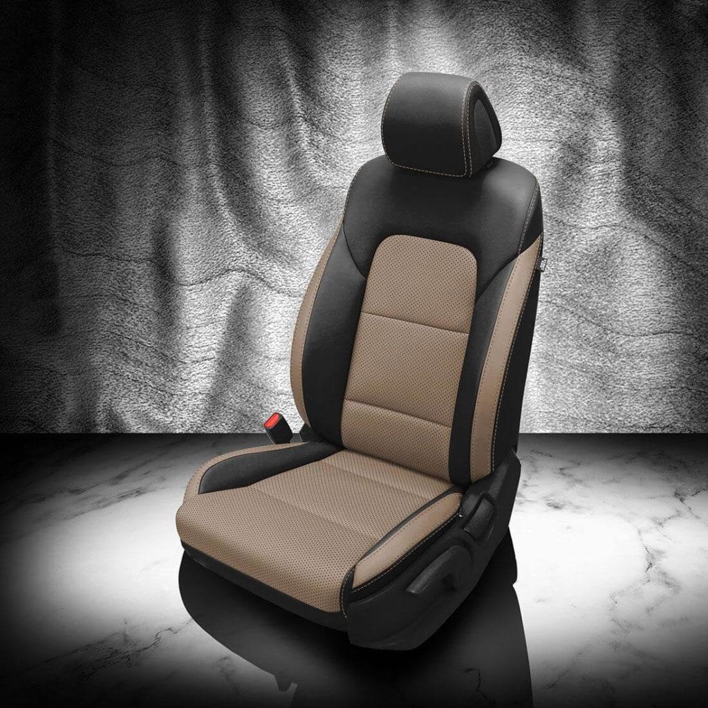 Hyundai Tucson Black and Brown Seat Covers