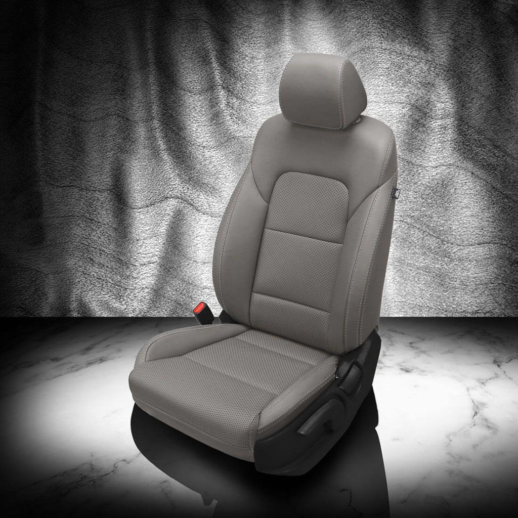Kia Sportage Gray Leather Seat Covers