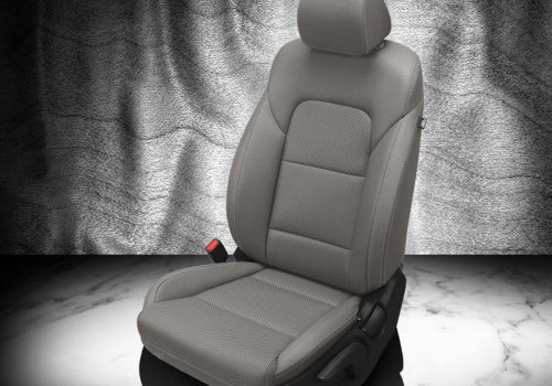 Kia Sportage Gray Leather Seat Covers