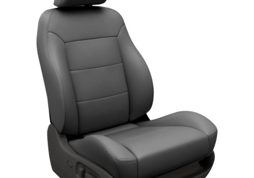 Mazda 6 Dark Gray Leather Seats