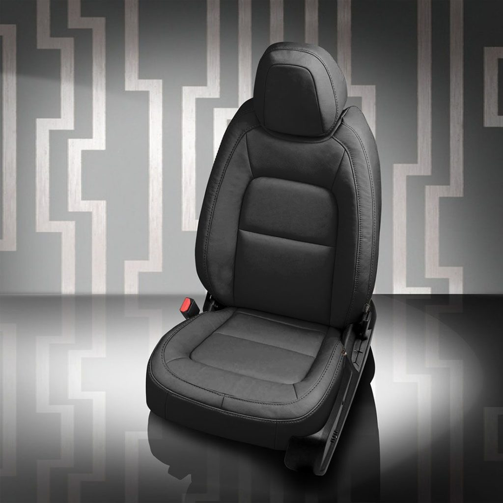 GMC Canyon Black Leather Seats