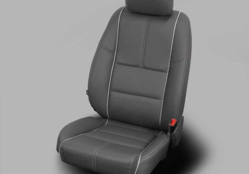 Chevy Impala Gray Leather Seats
