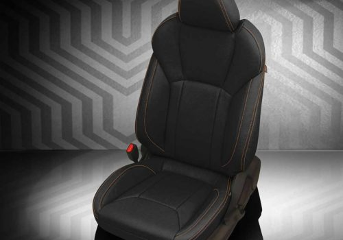 Subaru Crosstrek Black Leather Seats
