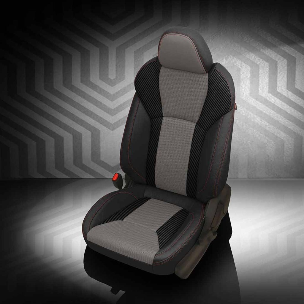 Orlando Auto Upholstery Gray and Black Seats