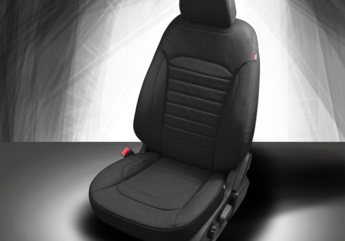 Ford Edge Black Leather Seats