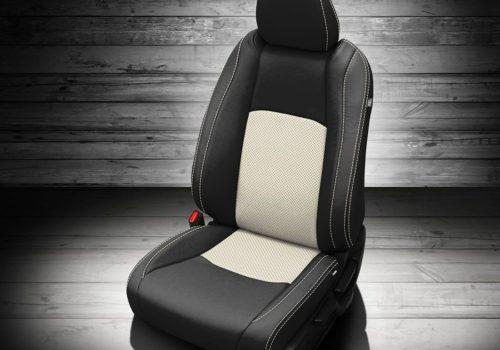 Honda HR-V Black and White Leather Seats