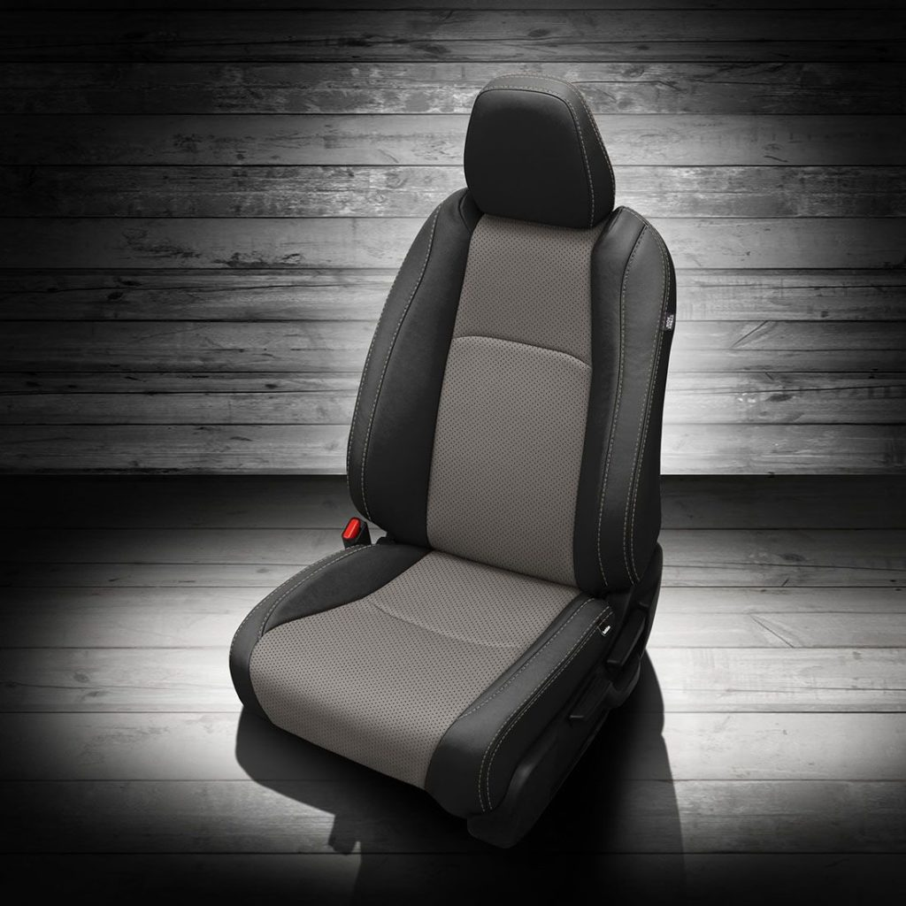 Honda HR-V Gray and Black Leather Seats