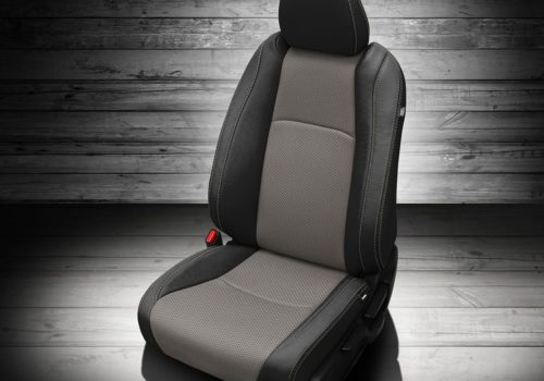 Honda HR-V Gray and Black Leather Seats