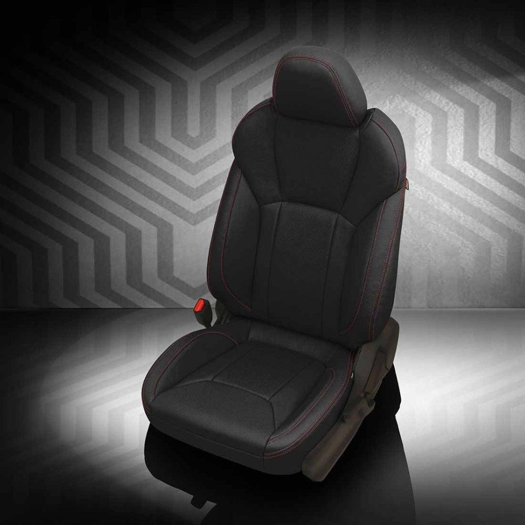 Subaru Impreza Black Leather Seats