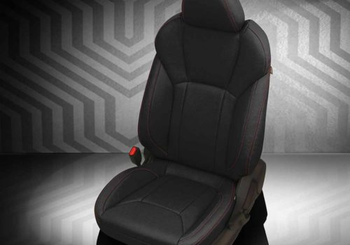 Subaru Impreza Black Leather Seats