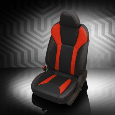 Subaru Impreza Red and Black Leather Seats