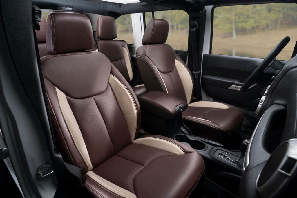 Leather Seats & Interior After Transformation