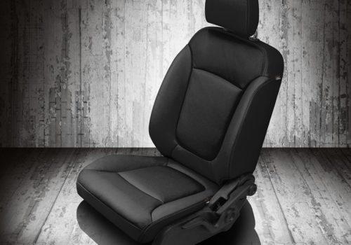 Dodge Journey Black Leather Seats