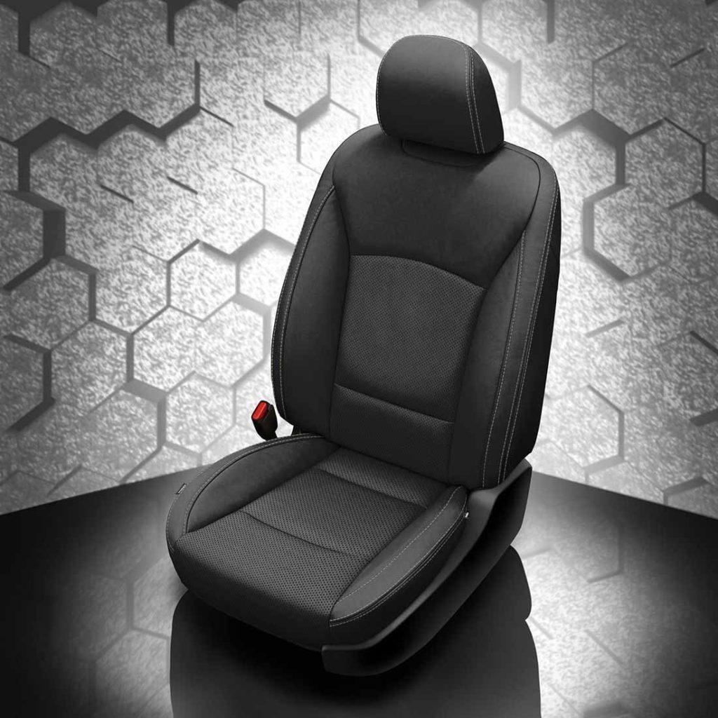 Subaru Legacy Black Leather Seats