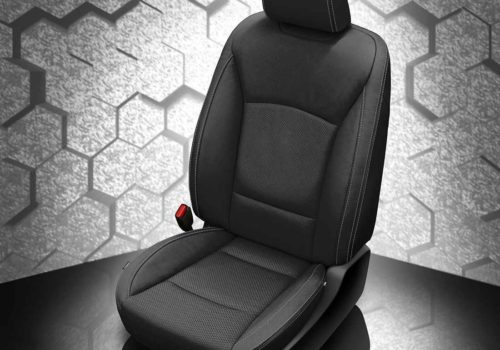 Subaru Legacy Black Leather Seats