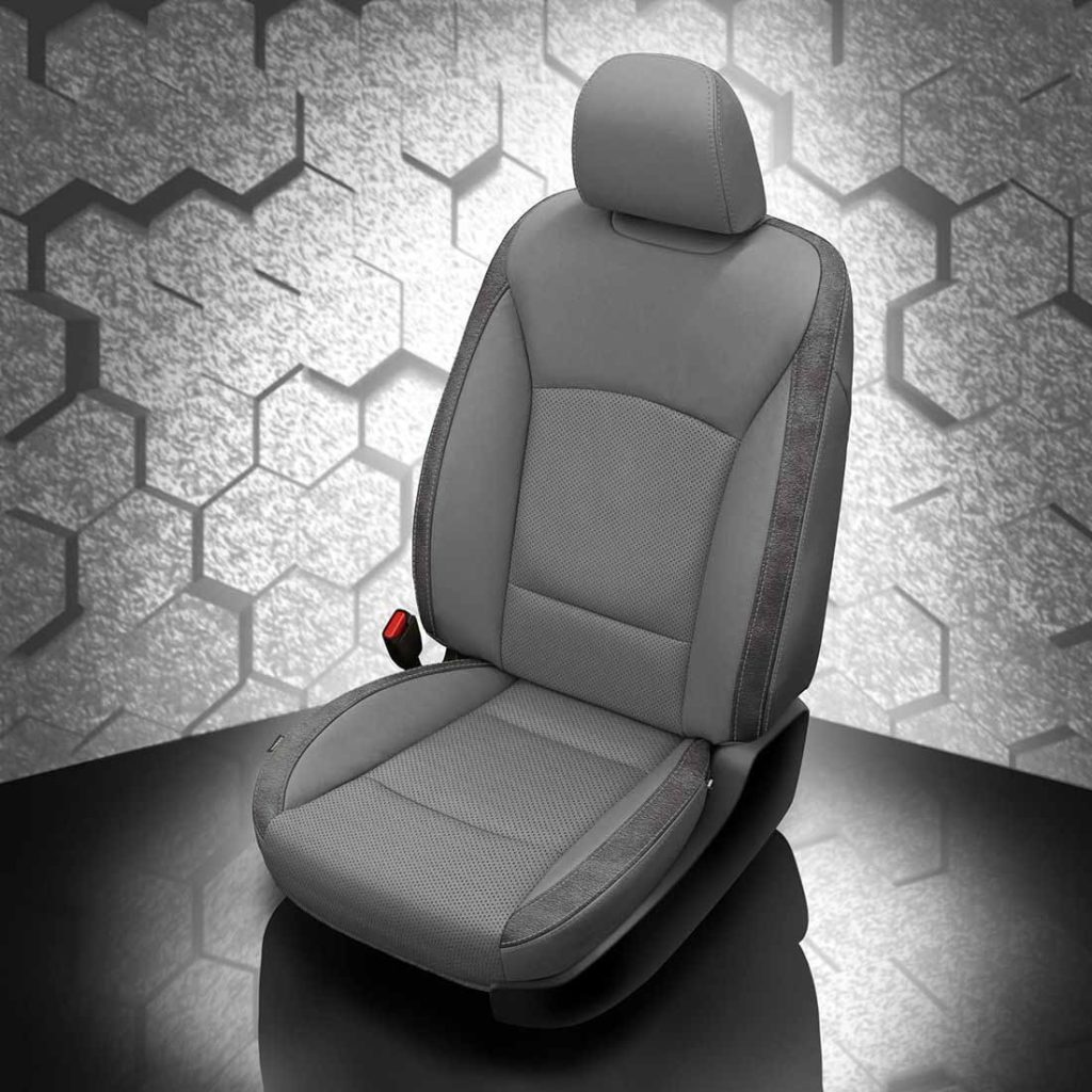 Subaru Legacy Gray Leather Seats
