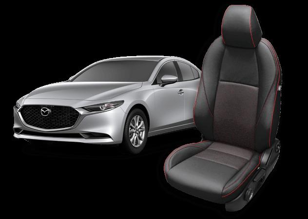 Mazda 3 leather seats