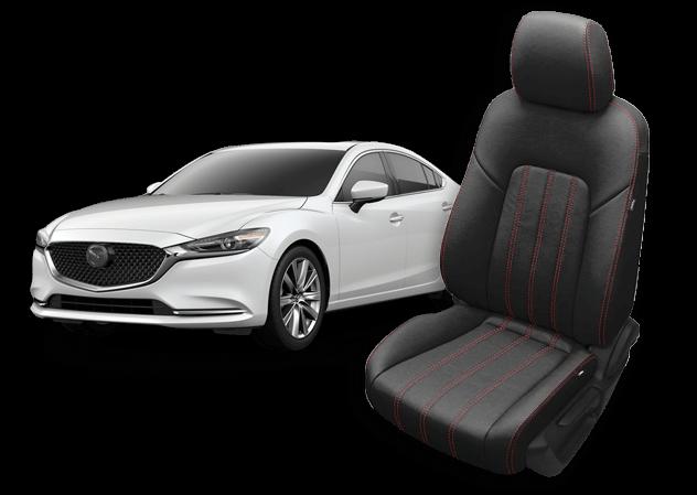 Mazda 6 leather seats