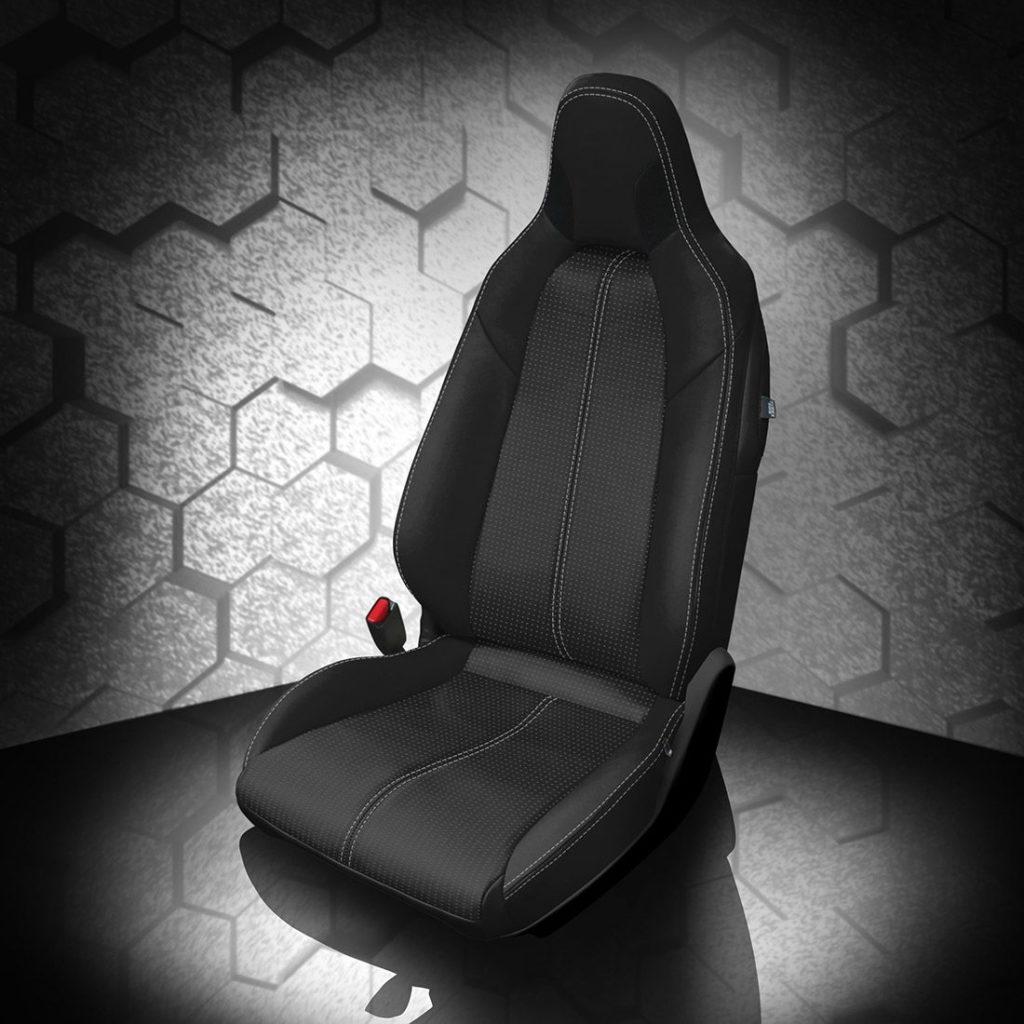 Mazda Miata Black Leather Seats