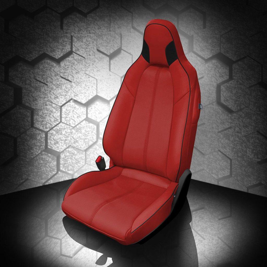 Mazda Miata Red Leather Seats