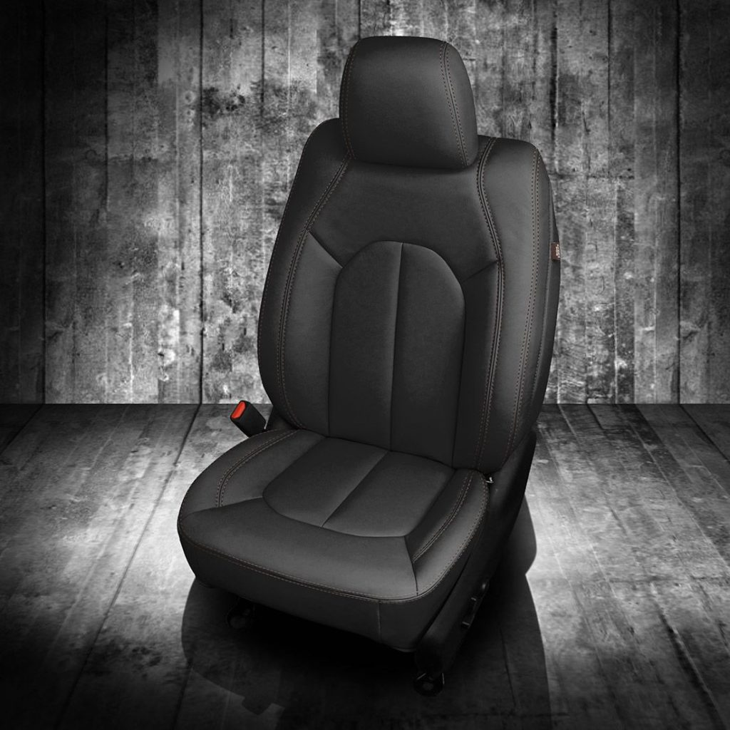 Black Chrysler Pacifica Leather Seats