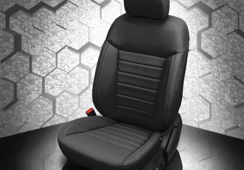 Ford Ranger Black Leather Seats