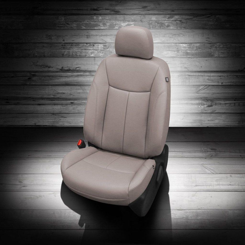 Nissan Sentra White Leather Seats