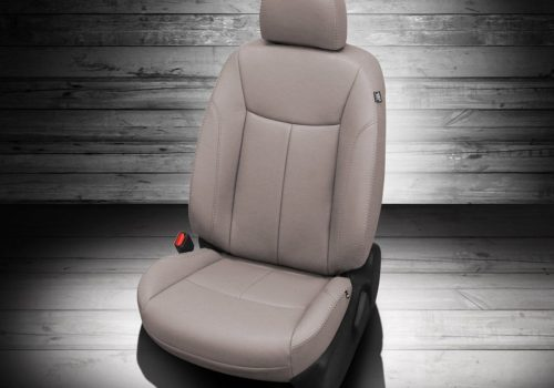 Nissan Sentra White Leather Seats