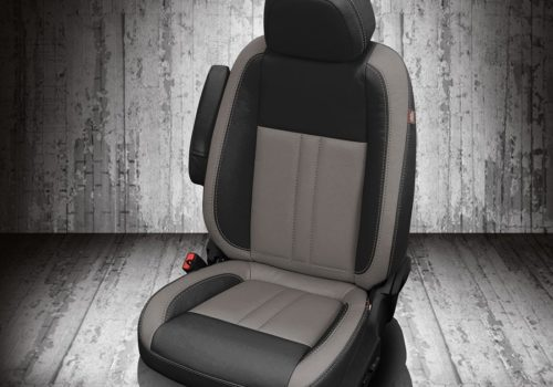 Chevy Trax Black and Gray Leather Seats