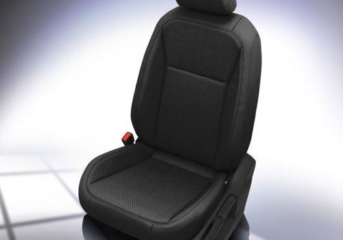 VW Tiguan Black Leather Seats