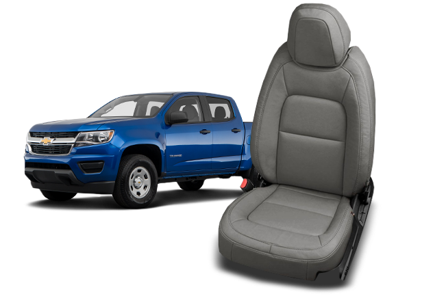 Chevy Colorado leather seats