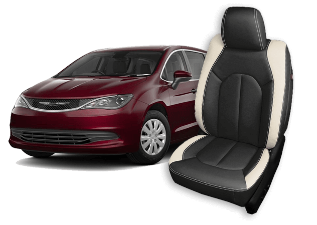 chrysler pacifica leather seats