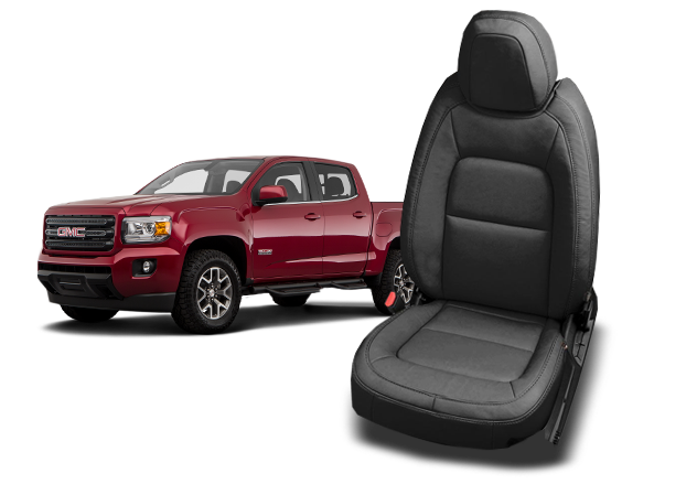 GMC Canyon leather seats